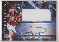 Rookie Jumbo Patch Autographs - Calvin Ridley #/49