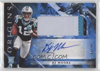 Rookie Jumbo Patch Autographs - DJ Moore #/49