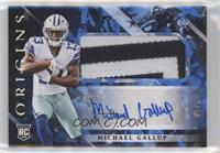 Rookie Jumbo Patch Autographs - Michael Gallup /49