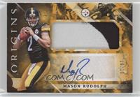 Rookie Jumbo Patch Autographs - Mason Rudolph #/10