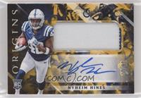 Rookie Jumbo Patch Autographs - Nyheim Hines #/10