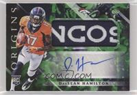 Rookie Jumbo Patch Autographs - DaeSean Hamilton /5
