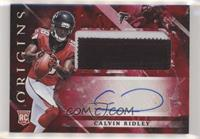 Rookie Jumbo Patch Autographs - Calvin Ridley /99