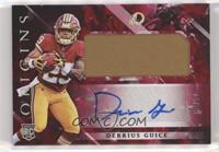 Rookie Jumbo Patch Autographs - Derrius Guice /99