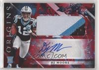 Rookie Jumbo Patch Autographs - DJ Moore #/99