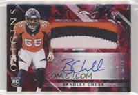 Rookie Jumbo Patch Autographs - Bradley Chubb #/99
