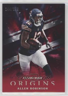 2018 Panini Origins - [Base] - Red #18 - Allen Robinson /299