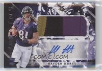Rookie Jumbo Patch Autographs - Hayden Hurst