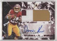 Rookie Jumbo Patch Autographs - Derrius Guice