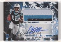 Rookie Jumbo Patch Autographs - DJ Moore