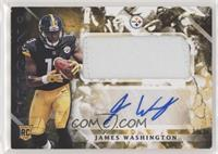 Rookie Jumbo Patch Autographs - James Washington [EX to NM]