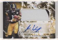 Rookie Jumbo Patch Autographs - James Washington
