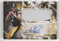 Rookie Jumbo Patch Autographs - Mason Rudolph