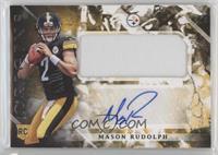 Rookie Jumbo Patch Autographs - Mason Rudolph