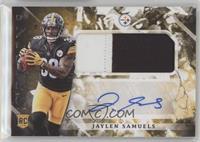 Rookie Jumbo Patch Autographs - Jaylen Samuels