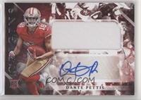 Rookie Jumbo Patch Autographs - Dante Pettis