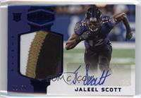 Rookie Patch Autographs - Jaleel Scott #/50