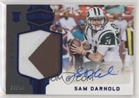 Rookie Patch Autographs - Sam Darnold #/50