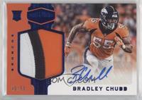 Rookie Patch Autographs - Bradley Chubb #/50