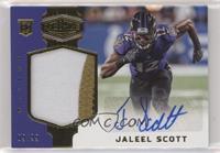 Rookie Patch Autographs - Jaleel Scott #/99