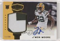 Rookie Patch Autographs - J'Mon Moore /99