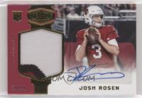 Rookie Patch Autographs - Josh Rosen [EXtoNM] #/99