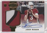 Rookie Patch Autographs - Josh Rosen #/99