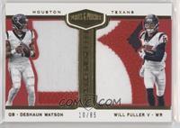 Deshaun Watson, Will Fuller V #/85