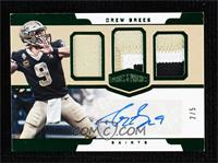 Drew Brees [EX to NM] #/5