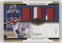 Saquon Barkley #/55