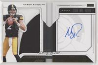 Rookie Playbook Jersey Autograph - Mason Rudolph [EX to NM] #/99