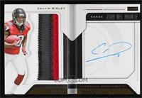 Rookie Playbook Jersey Autograph - Calvin Ridley #/75