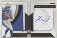 Rookie Playbook Jersey Autograph - Kerryon Johnson [Noted] #/99