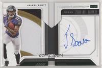 Rookie Playbook Jersey Autograph - Jaleel Scott /25