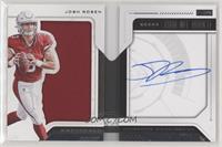 Rookie Playbook Jersey Autograph - Josh Rosen [Noted] #/49