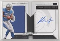 Rookie Playbook Jersey Autograph - Kerryon Johnson #44/125