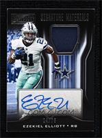 Ezekiel Elliott [Near Mint‑Mint] #/75