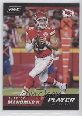 2018 Panini Player of the Day - [Base] #18 - Patrick Mahomes II