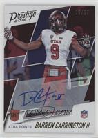 Rookie Signatures - Darren Carrington II #/25