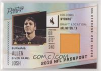 Josh Allen [EX to NM]
