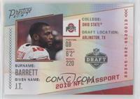 f052653c694e 2018 Panini Prestige - NFL Passport Football Cards