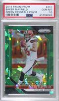 Rookies - Baker Mayfield [PSA 10 GEM MT] #/75