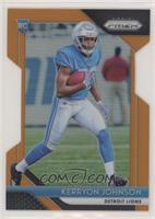 Rookies - Kerryon Johnson #/249