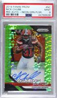 Nick Chubb [PSA 9 MINT]
