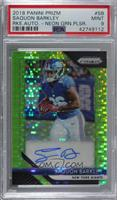 Saquon Barkley [PSA 9 MINT]