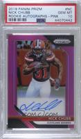 Nick Chubb [PSA 10 GEM MT]