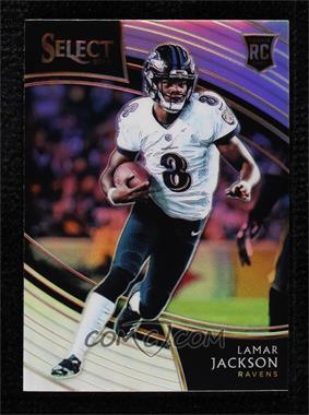 2018 Panini Select - [Base] - Silver Prizm #205 - Field Level - Lamar Jackson [NearMint‑Mint]