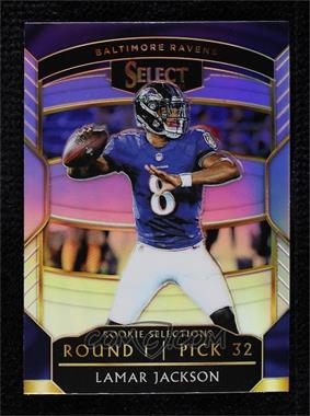 2018 Panini Select - Rookie Selections - Prizm #RS-12 - Lamar Jackson [Mint]