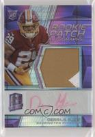Rookie Patch Autographs - Derrius Guice #/25