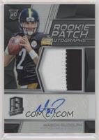 Rookie Patch Autographs - Mason Rudolph #/99